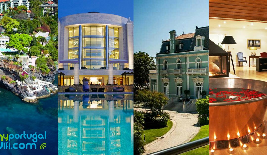 Hotéis de 5 estrelas em Portugal